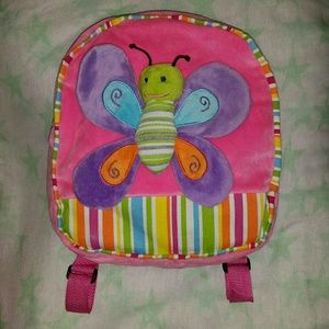 Plush Butterfly Backpack - Pack Mates by Kellytoy